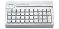 Pos клавиатура Posiflex KB 4000 - U (белая, без ридера карт)