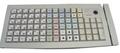 Pos клавиатура Posiflex KB 6600 - U (белая, c ридером карт)