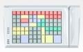 Pos клавиатура Posua LPOS-096-M12 - RS232 Белый