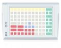 Pos клавиатура Posua LPOS-096P-M12 - USB Белый