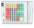 Pos клавиатура Posua LPOS-064FP-M02 - RS232 Белый