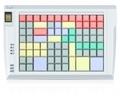 Pos клавиатура Posua LPOS-096FP-Mxx - RS232 Черный