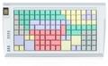 Pos клавиатура Posua LPOS-128FP-Mxx - RS232 Черный