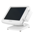 "Pos моноблок Posiflex KS-7215G-WT белый, 15"" TFT, Intel Atom D525 (PineView) DualCore 1.8 GHz, 32 GB SSD, 2 GB DDR3, без ОС, USB. ТЕСТ"